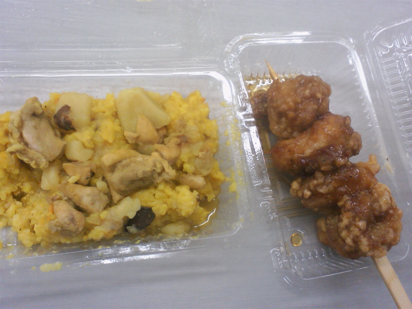 留学生の料理